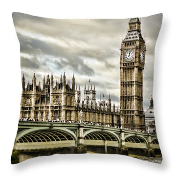 Westminster Throw Pillow by Heather Applegate