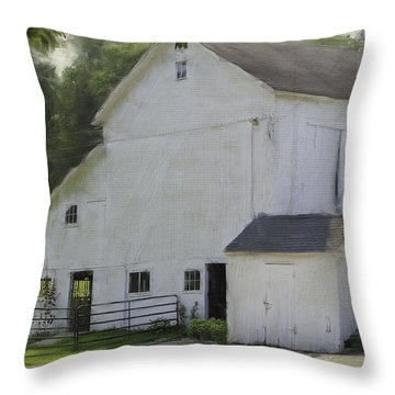 Westport Barn Throw Pillow
