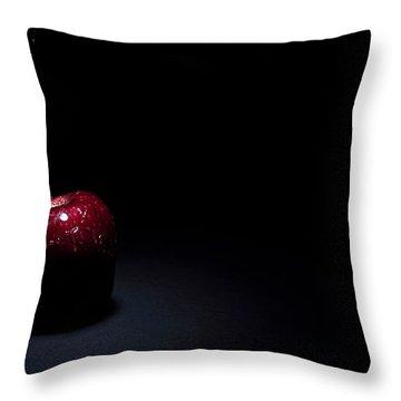 Wet Apple Throw Pillow