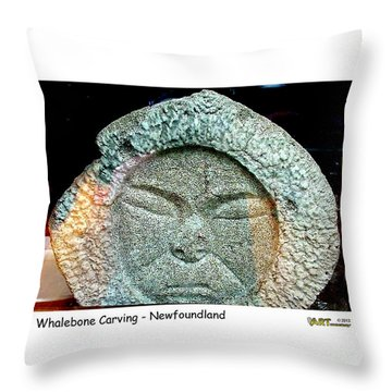 Whalebone Art Throw Pillow