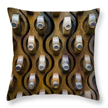 Whaling Machinery Throw Pillow by John Shaw