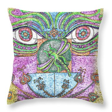 What A Change Of Pace Throw Pillow