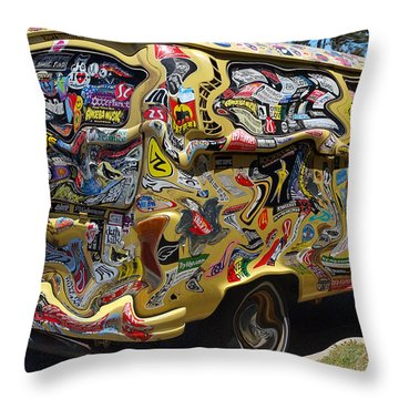 What A Long Strange Trip Throw Pillow