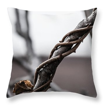 What A Twist Throw Pillow
