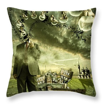 What Are You Thinking Throw Pillow