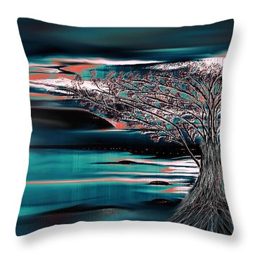 What Ever Dreams You Follow Throw Pillow