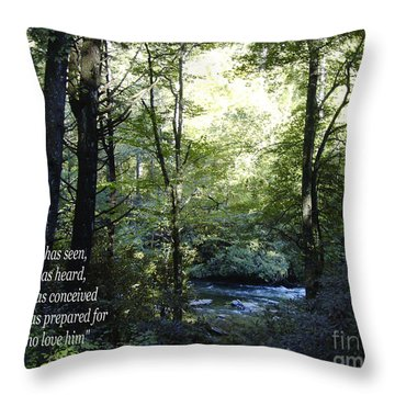 What God Prepares Throw Pillow