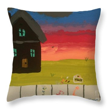 What Home Means To Me Throw Pillow