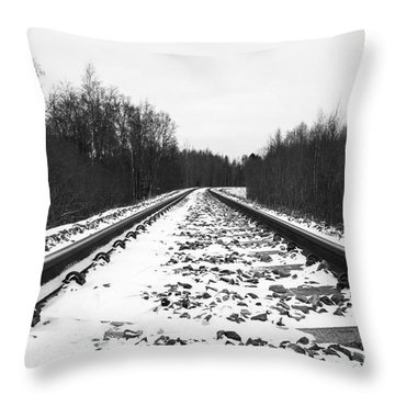 What Is Behind The Corner Throw Pillow