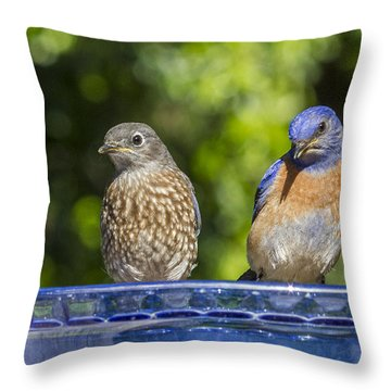 What Is It Throw Pillow by Jean Noren