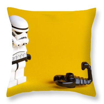What Is It Throw Pillow by Samuel Whitton