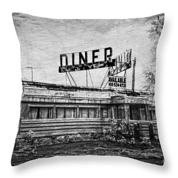 Throw Pillow featuring the photograph What Is On The Menu by Debra Fedchin
