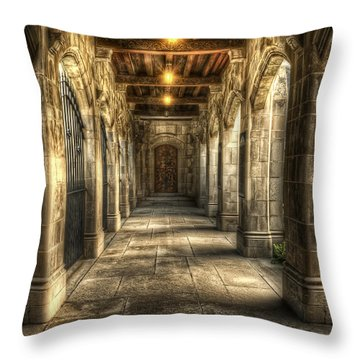 What Lies Beyond Throw Pillow by Scott Norris