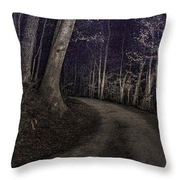 What Lies Lurking Throw Pillow by William Fields