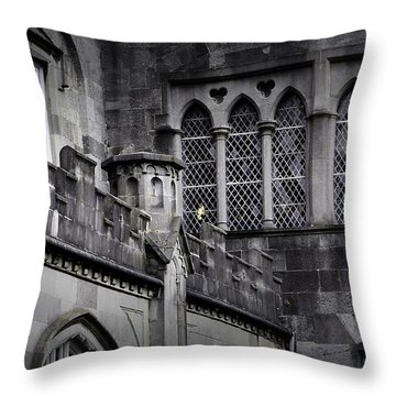 What Light In Yonder Window Throw Pillow