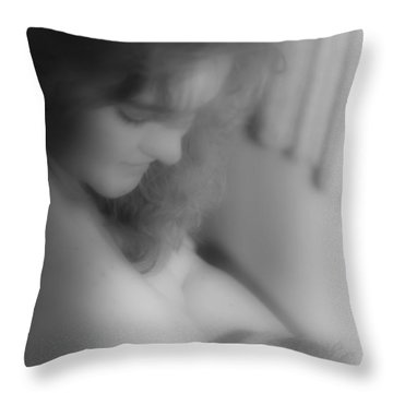 What Love Looks Like Throw Pillow by Katie Wing Vigil