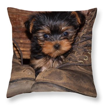 What Next Throw Pillow