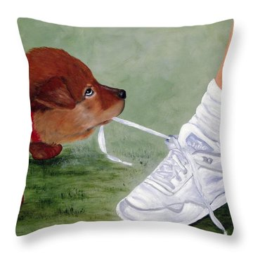 What Ya Gonna Do Throw Pillow