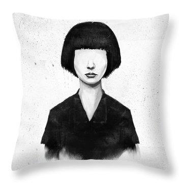 Portraits Throw Pillows