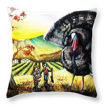 Whats For Dinner? Throw Pillow by Shana Rowe Jackson
