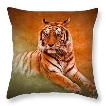 What's New Pussycat? Throw Pillow