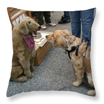 What's Your Name? Throw Pillow