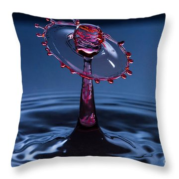 Wheel Of Confusion Throw Pillow by Anthony Sacco