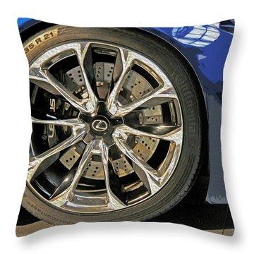 Wheel Of The Future Throw Pillow