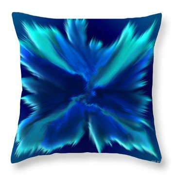Throw Pillow featuring the digital art When Angels Are Born - Spiritual Art By Giada Rossi by Giada Rossi