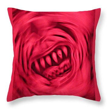 When Anxiety Attacks Throw Pillow