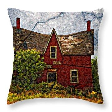 When Dreams Die Throw Pillow by Steve Harrington