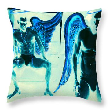 When Heaven And Earth Collide Series Throw Pillow