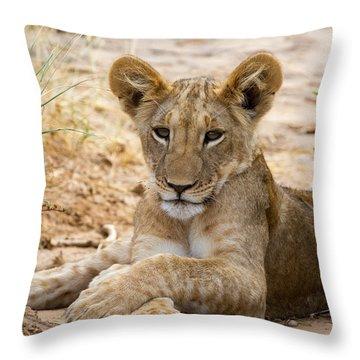 When I Am King Throw Pillow