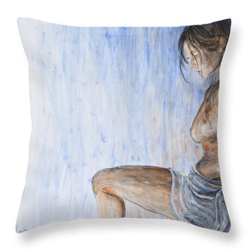 When I Come Around Throw Pillow by Nik Helbig