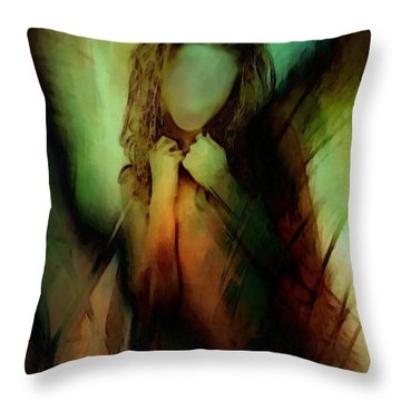 When Life Feels Like Needles On Your Skin Throw Pillow by Gun Legler