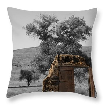 When One Door Closes Throw Pillow