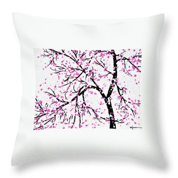 When Spring Comes Throw Pillow by Kume Bryant