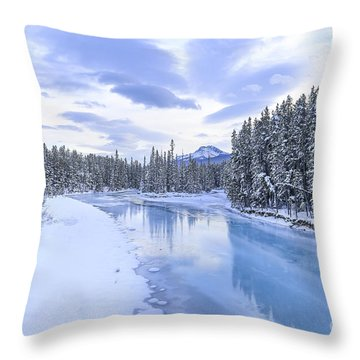 When The Trees Were Silenced Throw Pillow