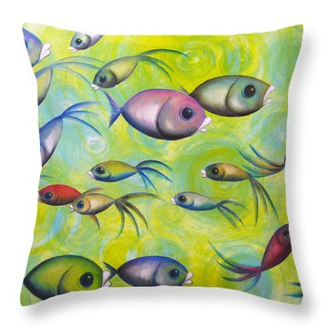 Where Are You Throw Pillow by Oiyee At Oystudio