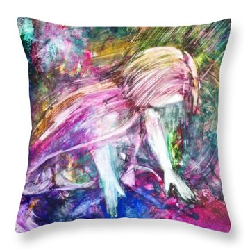 Where Can I Go From Your Spirit? Throw Pillow