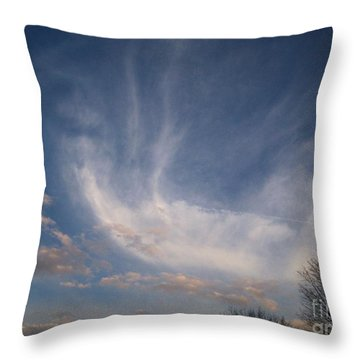 Where Does The Wind Come From Throw Pillow