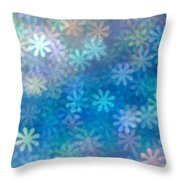 Throw Pillow featuring the photograph Where Have All The Flowers Gone by Dazzle Zazz