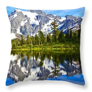 Throw Pillow featuring the photograph Where Is Up And Where Is Down by Eti Reid