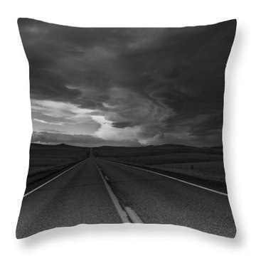 Where It Goes-3 Throw Pillow