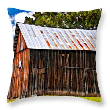 Where March Madness Begins 2 Throw Pillow by Steve Harrington