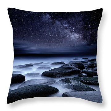 Where No One Has Gone Before Throw Pillow