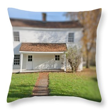 Where The Heart Is Throw Pillow by Bonnie Bruno