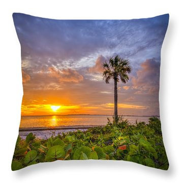 Where The Heart Is Throw Pillow by Marvin Spates