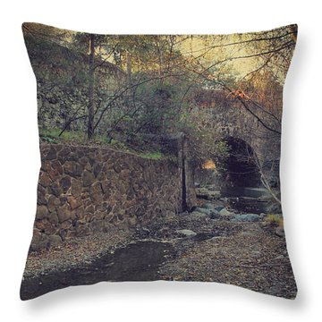 Where The Story Begins Throw Pillow by Laurie Search