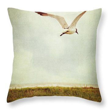 Where To Go? Throw Pillow